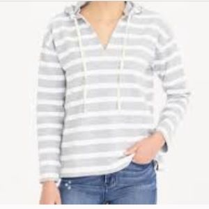 J crew factory hooded beach sweatshirt